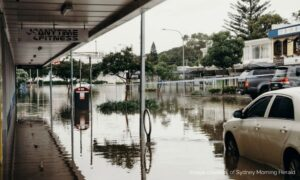 flooded street in nsw flood crisis, role of social media in a crisis